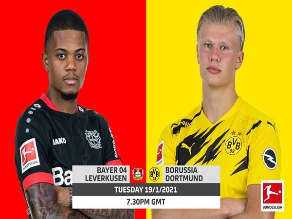 Nhận định Leverkusen vs Dortmund, 02h30 ngày 20/01